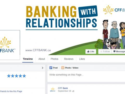 CFF Bank social media