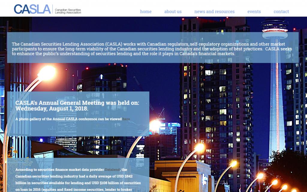 Canadian Securities Lending Association
